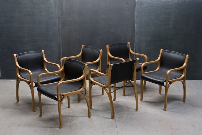 vintage modern italian leather chairs modern50 a non linear