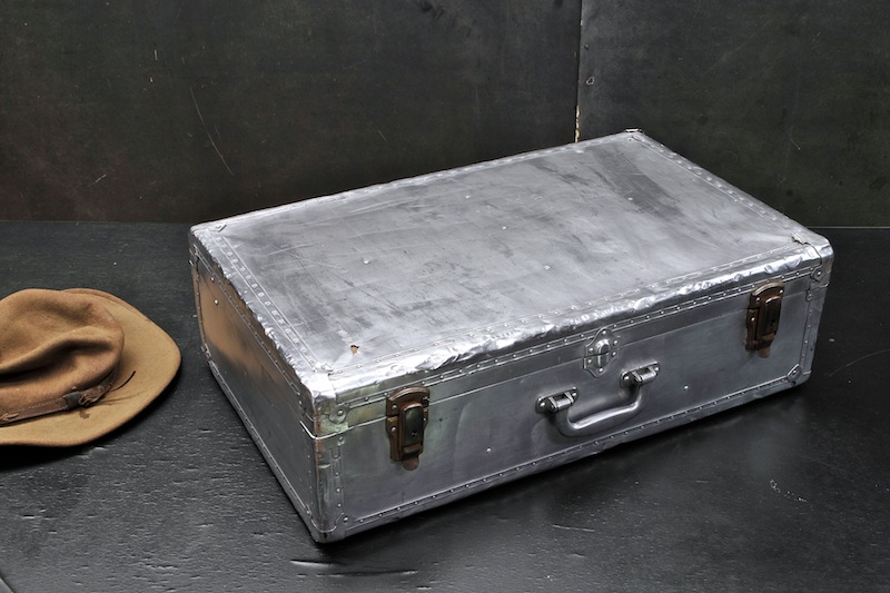 Vintage Aluminium Suitcase | Luggage And Suitcases